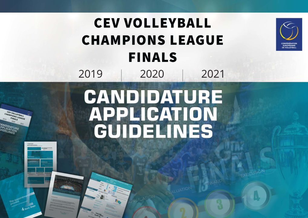 CEV Opens Bidding Process for Champions League Grand Finale