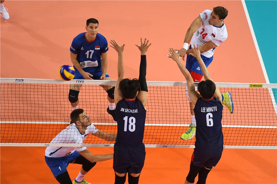 France Follows Boyer, Tillie to 4-Set Win; Atanasijevic Paces Serbia