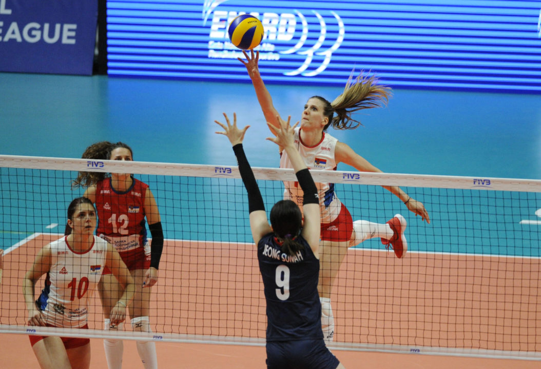 Bjelica Leads Serbia in Dominating Sweep of South Korea