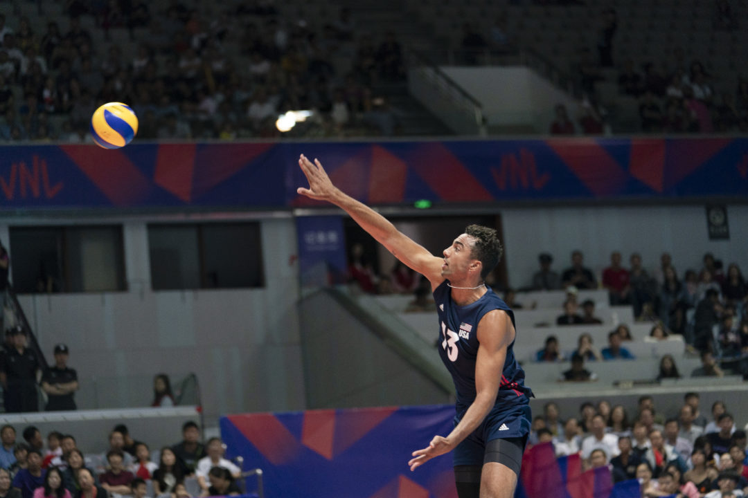 Ben Patch Will Miss Week 4 of #VNL With Injury