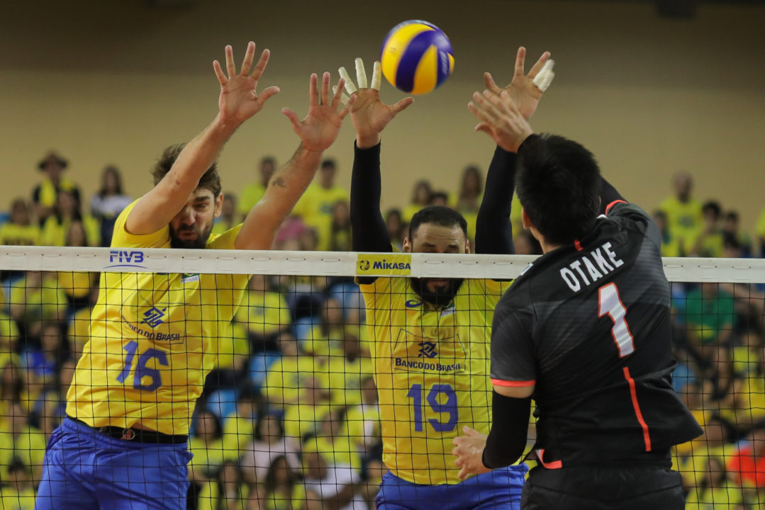Brazil's Block, Wallace Sweep Past Japan
