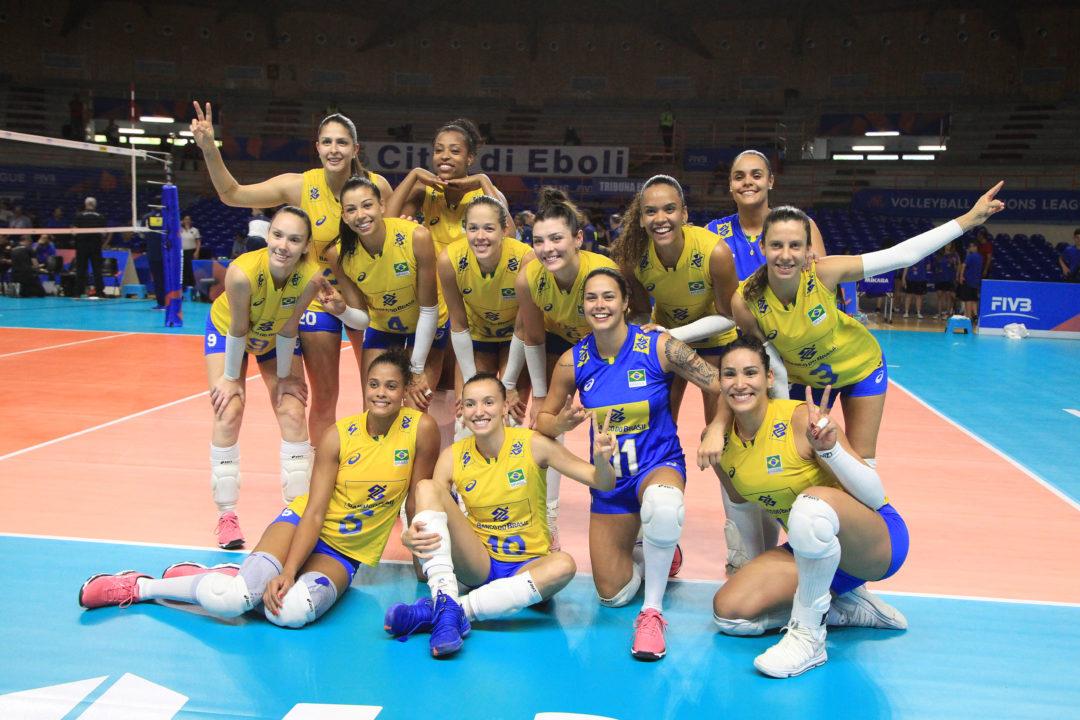Brazil Releases Women's VNL Final 6 Roster – Jaque No Longer Libero