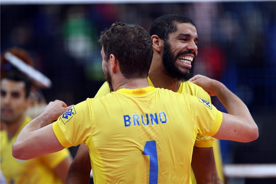 Projected Men's World Rankings After the Volleyball Nations League