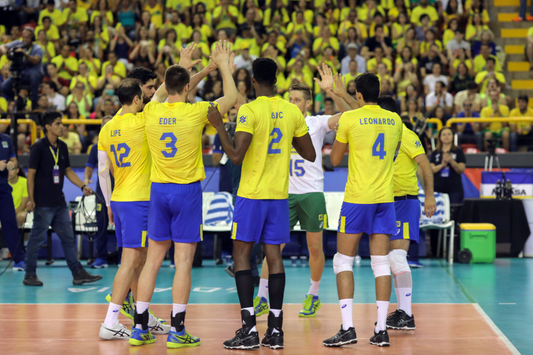 Brazil's Offense, Serve Too Much for Korea in Sweep
