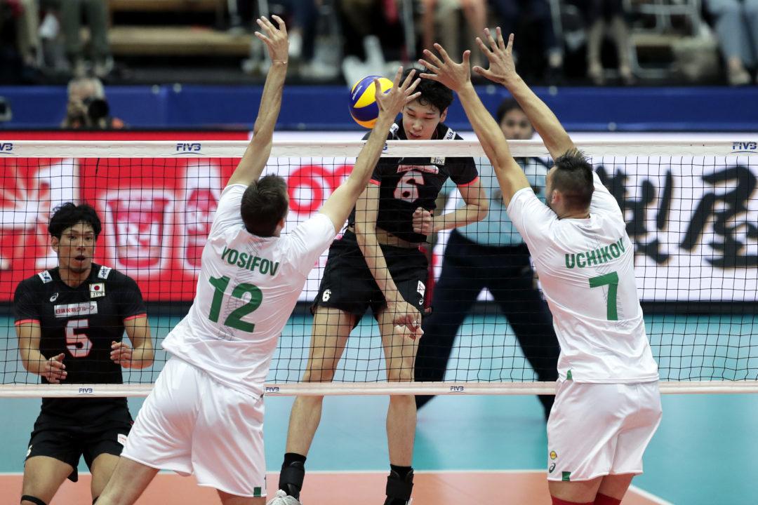 Poland Hangs On in 5-Setter vs. Italy; Bulgaria Sweeps Japan