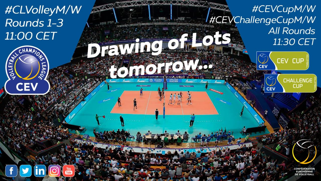 CEV Announces the Confirmed Teams for Champions League