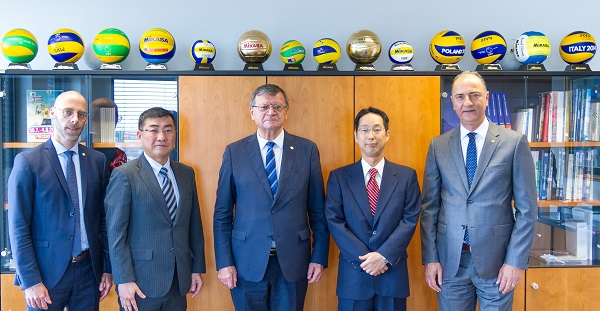 CEV, Mikasa In Talks to Extend Contract Past 2020