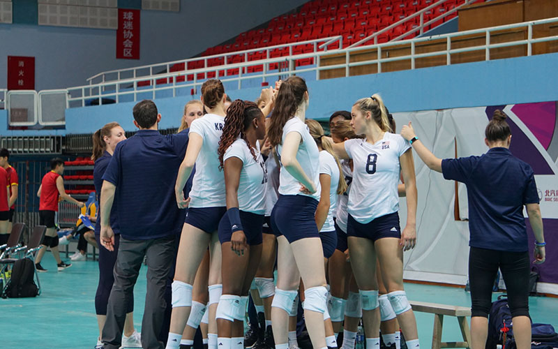 USA CNT-China Team Wraps Tour With 4-1 Record