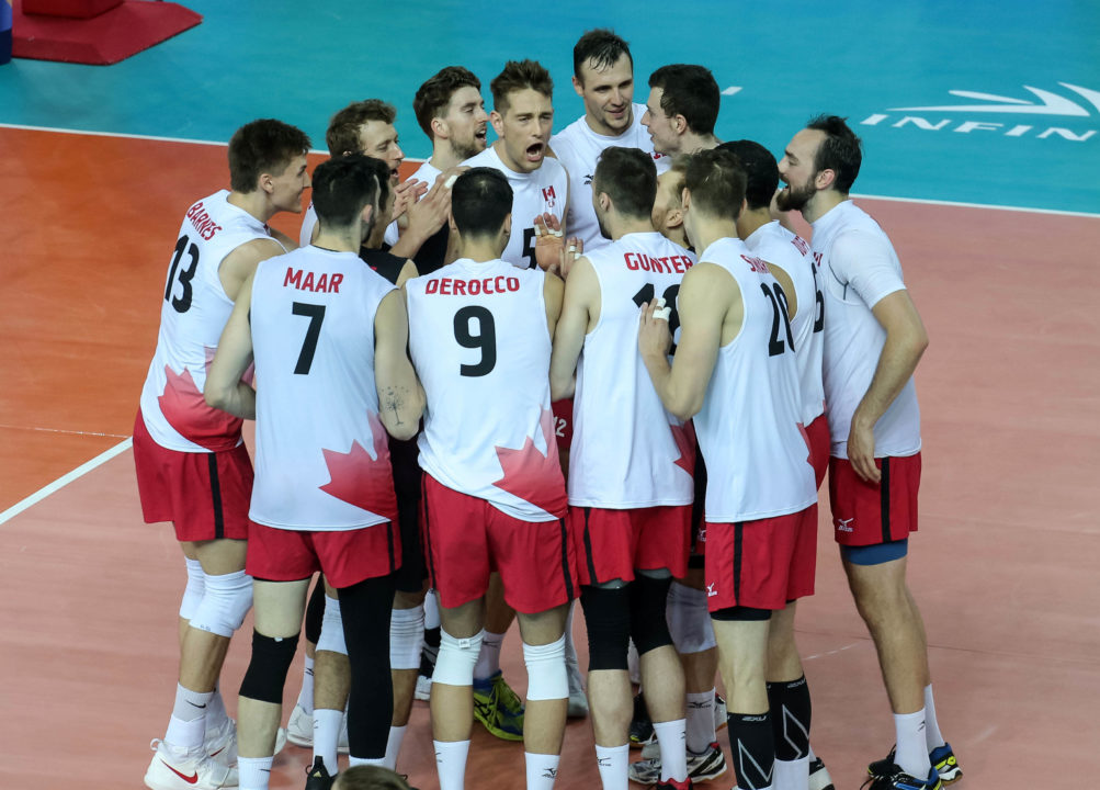 Canada Closes Out VNL with Sweep; Serbia Wins Fifth Straight