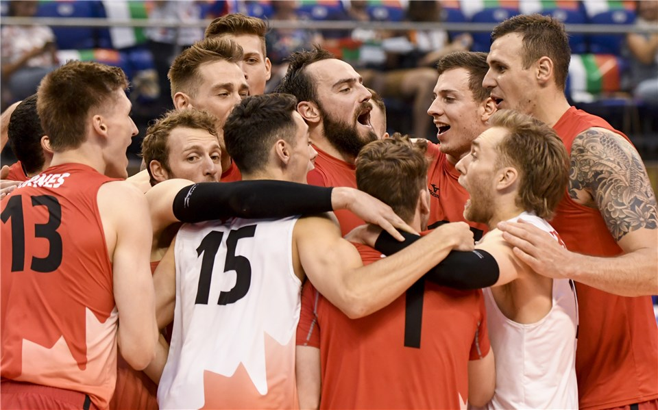 Canada Scores Huge Upset with Sweep of Brazil, France Blanks Bulgaria
