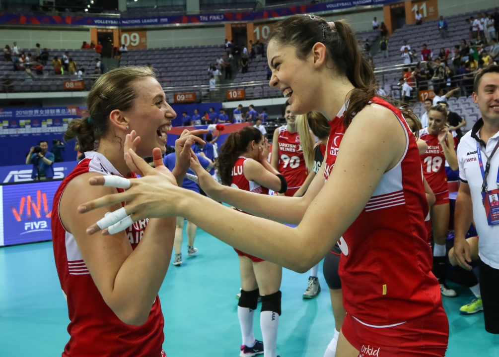 #VNL Semifinals: Turkey Upends Brazil, USA Downs Host China in Semis