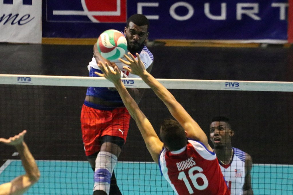 Men NORCECA Challenge Cup Day 4: Cuba Wins to Remain Atop the Table