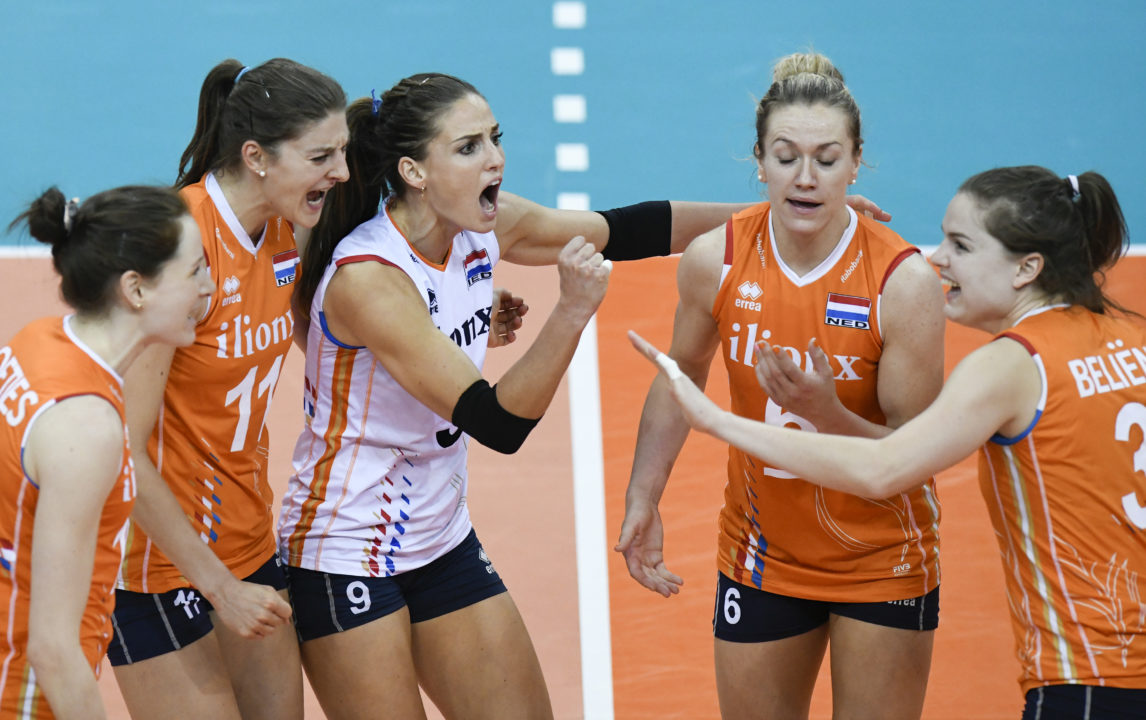 Final Six Is Set After Wins by Netherlands, Turkey