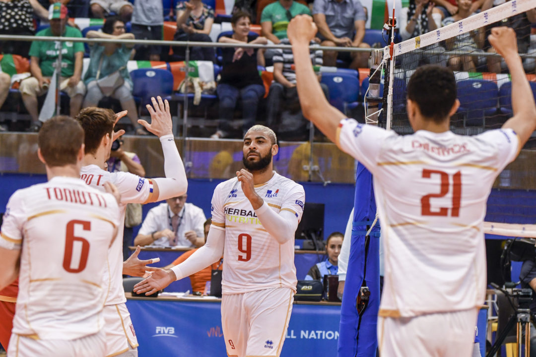 France Includes Injured Ngapeth on 14-Man Roster for Worlds Tournament