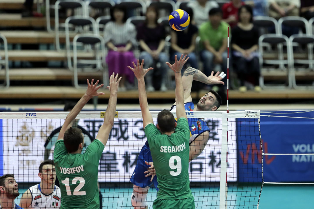 Lanza, Schulz, Bednorz Take Starring Roles as Italy, Poland Win