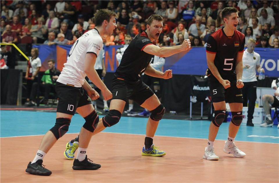 Hirsch Scores 17 as Germany Upsets No. 6 Canada 3-1