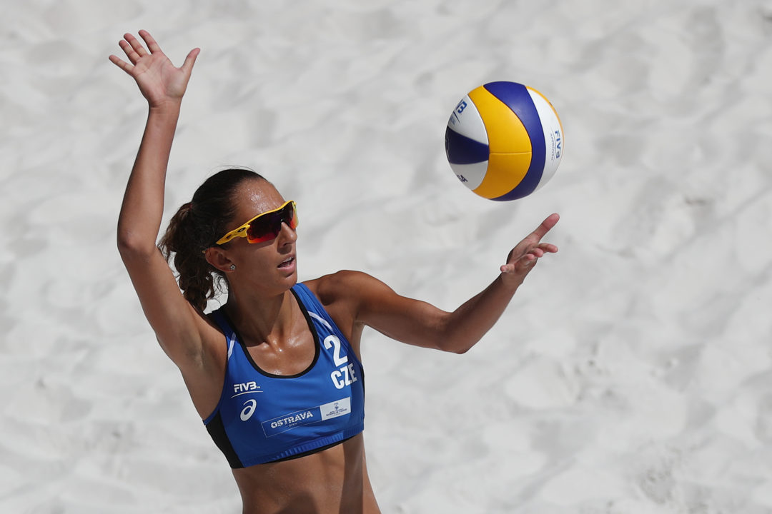 CEV's Queen Of The Snow Makes International Beach Volleyball Debut
