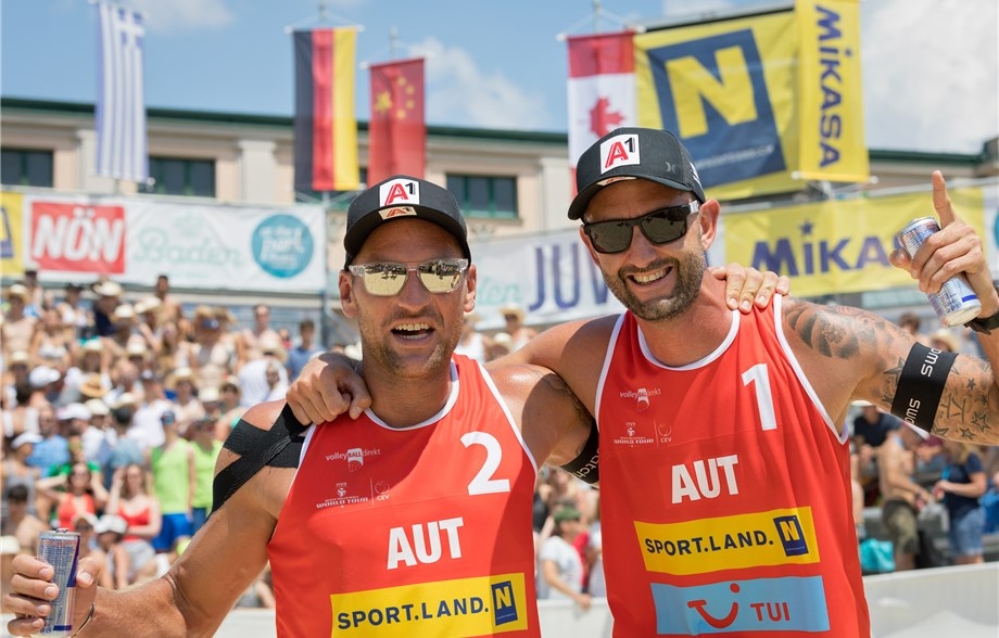 Mersmann/Tillmann, Doppler/Horst Win Gold at Baden One-Star
