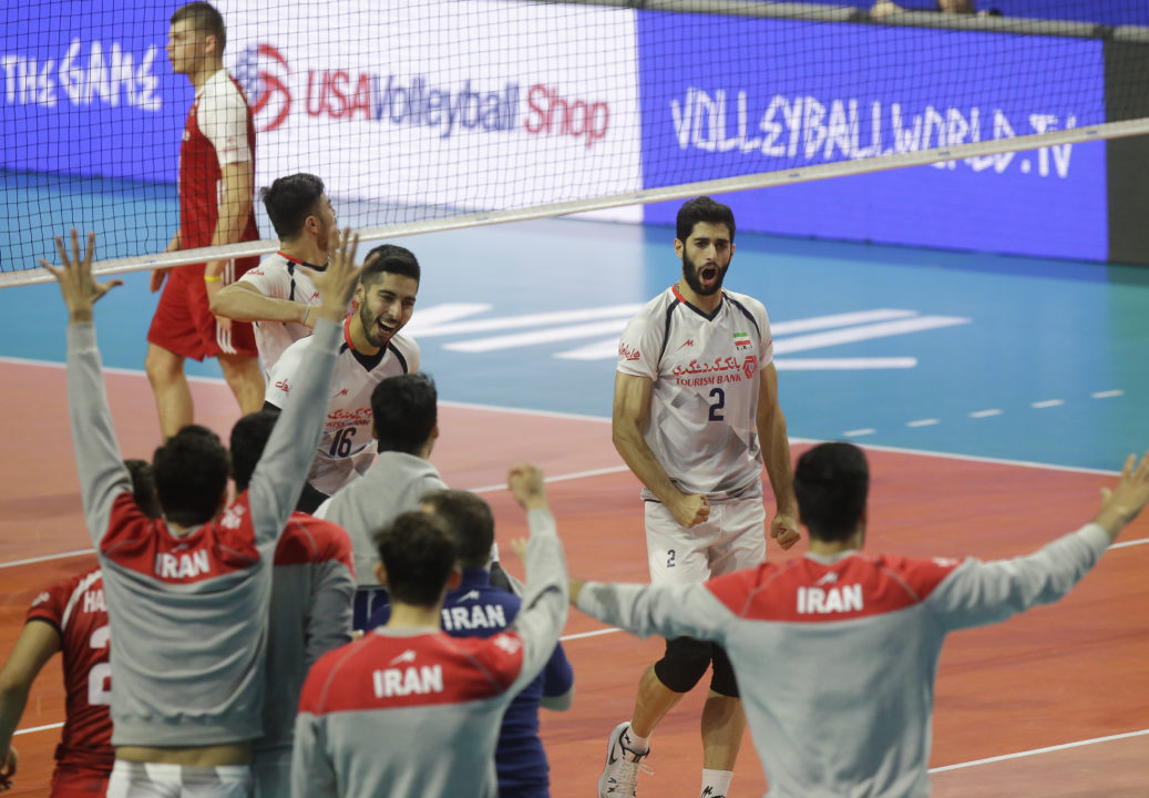 Iran Sweeps #3 Poland Behind Four Double-Digit Scoring Efforts