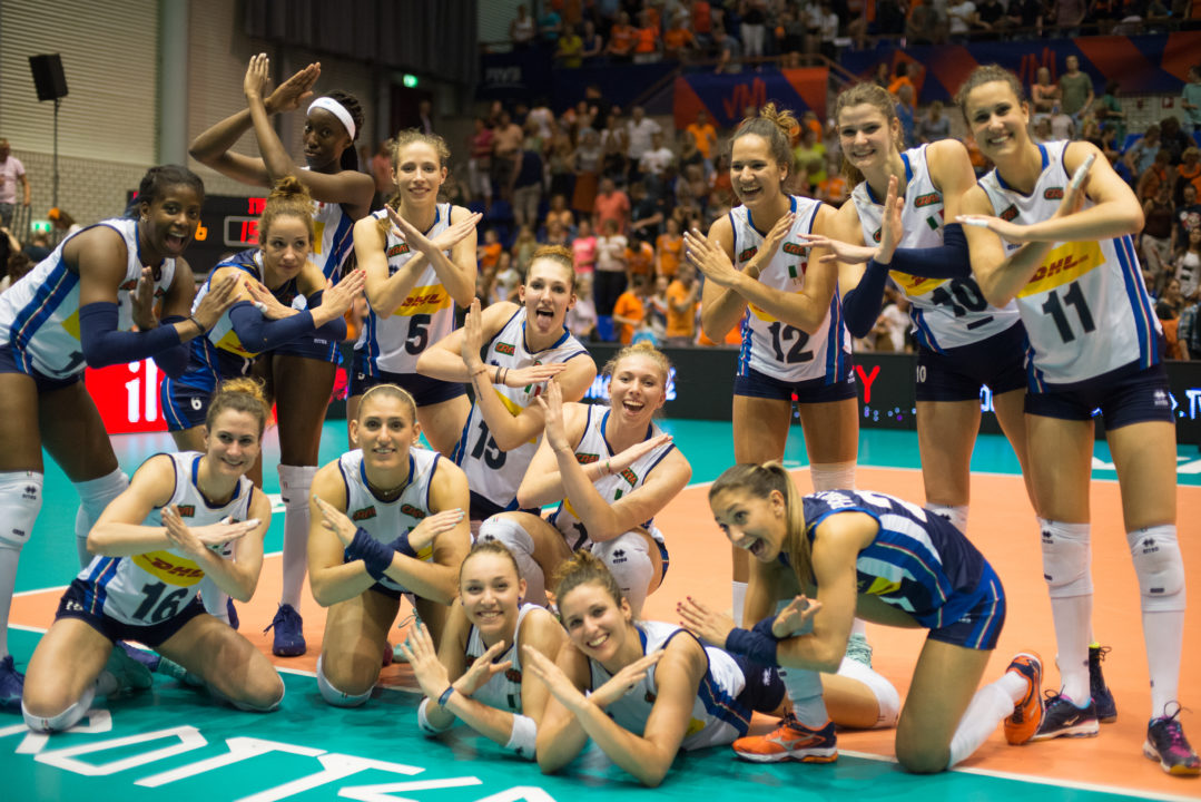 Italy Rallies for 5-Set Win Over Netherlands, Serbia Posts Sweep
