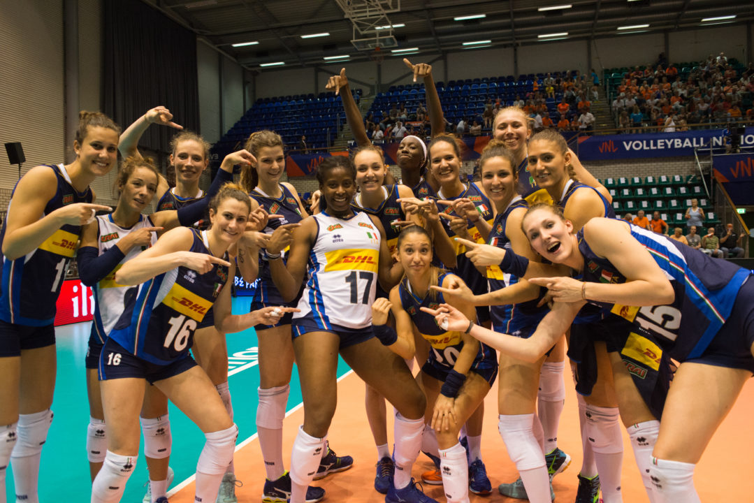 #VNL Week 5/Pool 19 Preview: Italy Needs a Miracle in Week 5