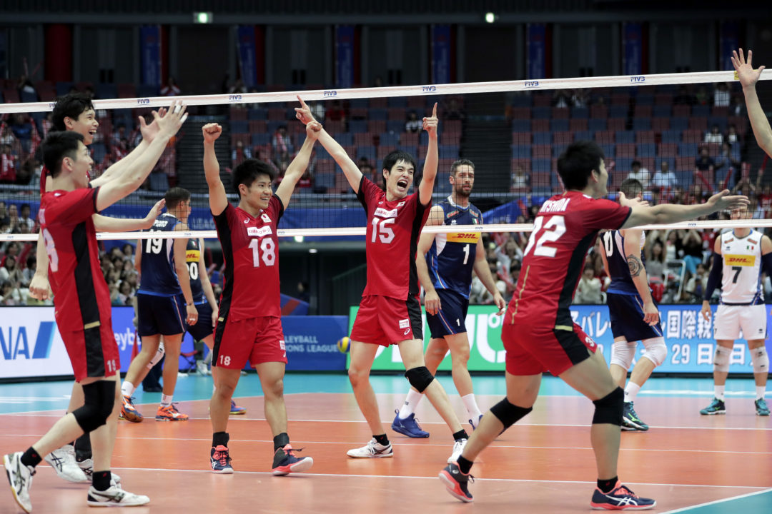 Errors Plague Italy in 5-Set Loss to Japan; Poland Wins in 4