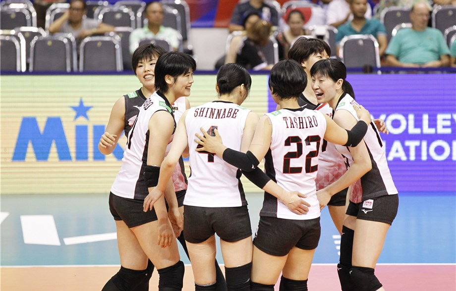 Japan Rallies From Down 2-0 to Top Thailand, Turkey Sweeps Korea