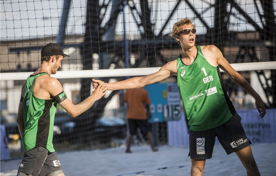 Qualifiers Thole/Wickler Win Pool Title at Ostrava Four Star
