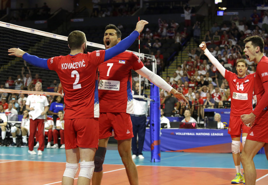 Atanasijevic, Serbia Excel Offensively, Sweep Past Poland