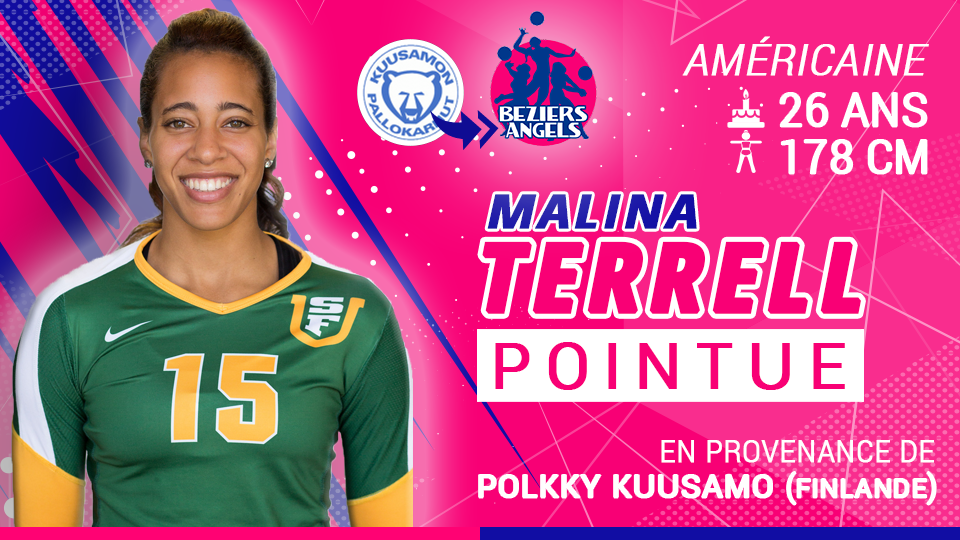 Former USF Standout Malina Terrell Signs In France With Beziers