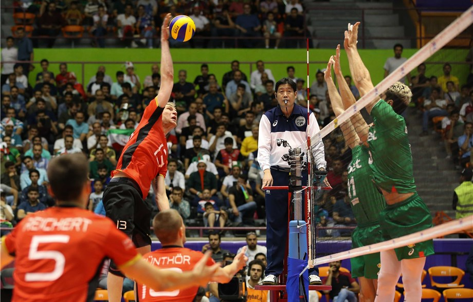 Germany Edges Bulgaria in 5; Iran Tops Korea in 4 in Pride Matches