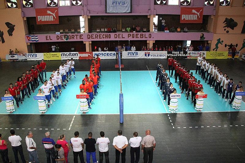 Men NORCECA Challenge Cup: Cuba & Puerto Rico Earn Day 1 Sweeps