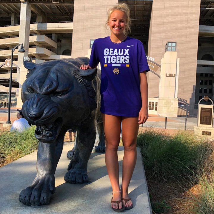 Class of 2019 Recruit Natalie Martin Commits to LSU Beach