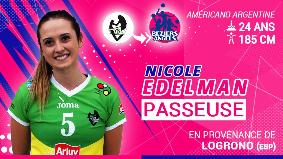 Former CU Buffs Nicole Edelman Signs In France