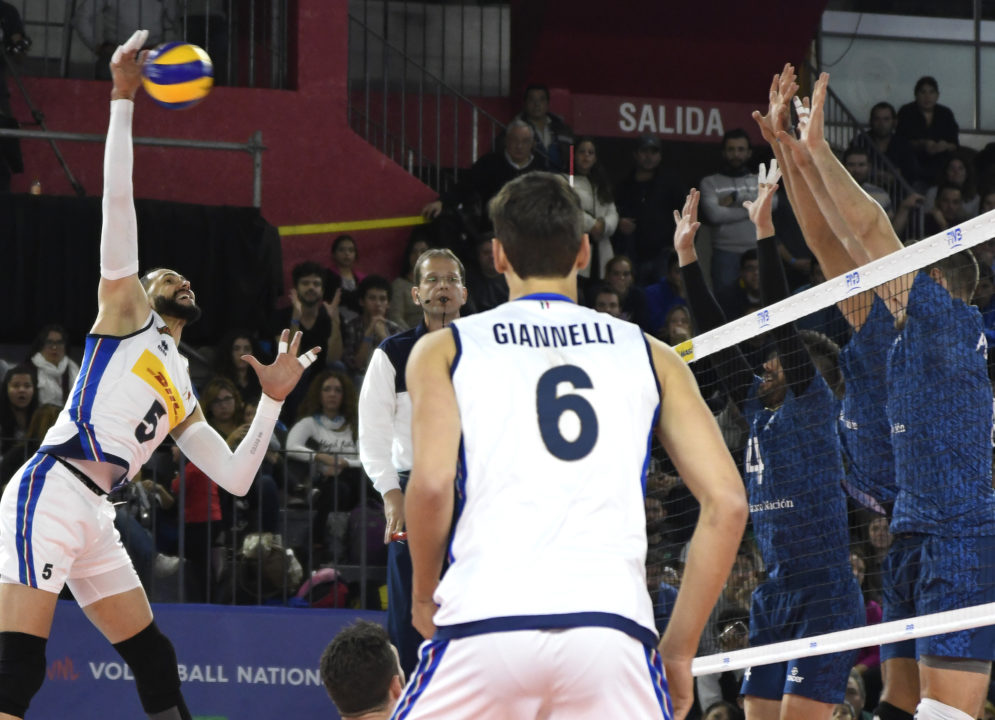 Italy Leaves Simone Giannelli off Week 4 Roster of #VNL
