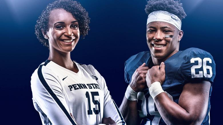 Barkley, Washington Named Penn State Student-Athletes of the Year