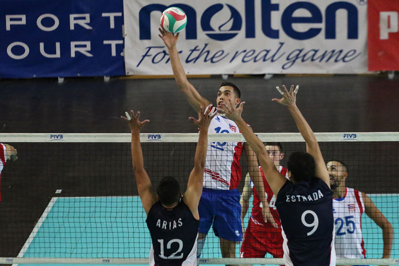Men NORCECA Challenge Cup Day 3: Puerto Rico & Cuba Stay Atop the Table