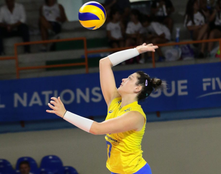 Montibeller, Pietrini, Egonu Shine in Wins for Brazil, Italy
