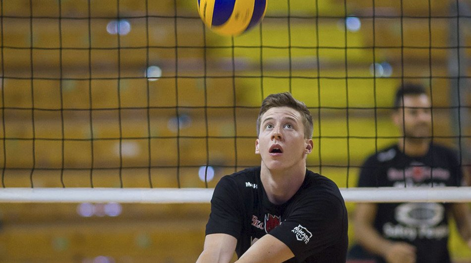 American Sam Holt Signs with Belgian Runners-Up Knack Volley