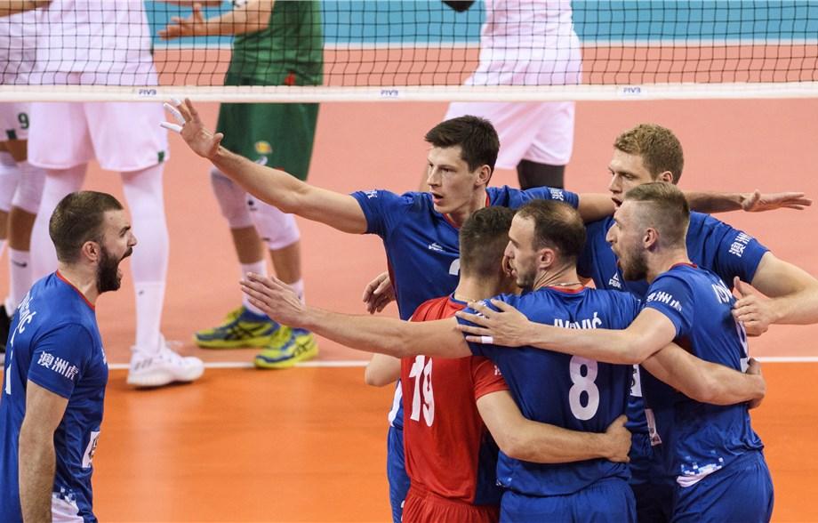 Errors Plague Australia, Bulgaria in Pool 5 Losses to Russia, Serbia