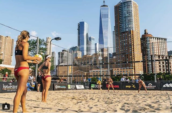 Eight Teams Move on To AVP New York Open Main Draw