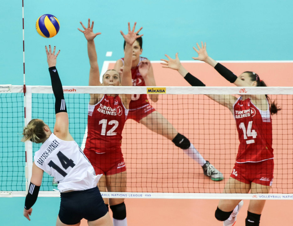 #VNL Final 6: Bartsch-Hackley's Insertion Leads USA Comeback; China Downs Netherlands