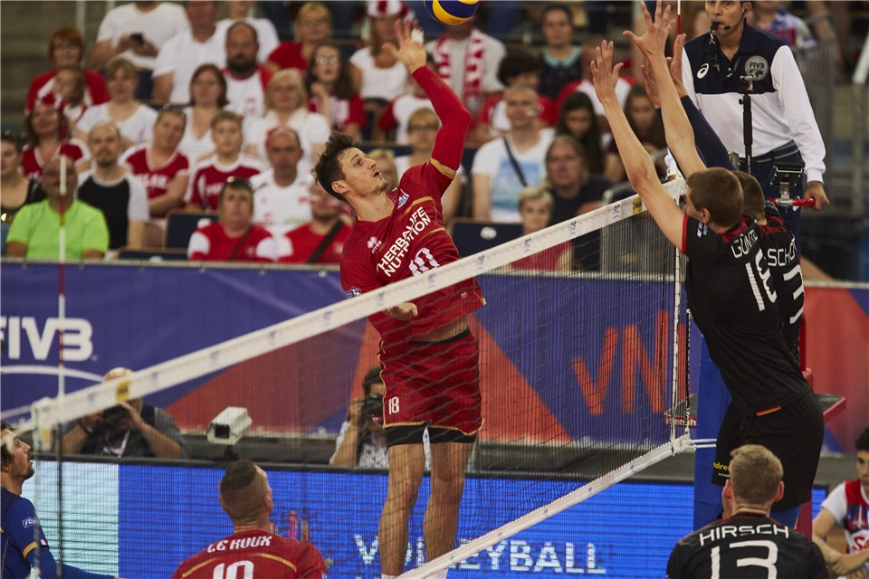 Poland Stays Atop #VNL Standings with Sweep; France Downs Germany 3-0