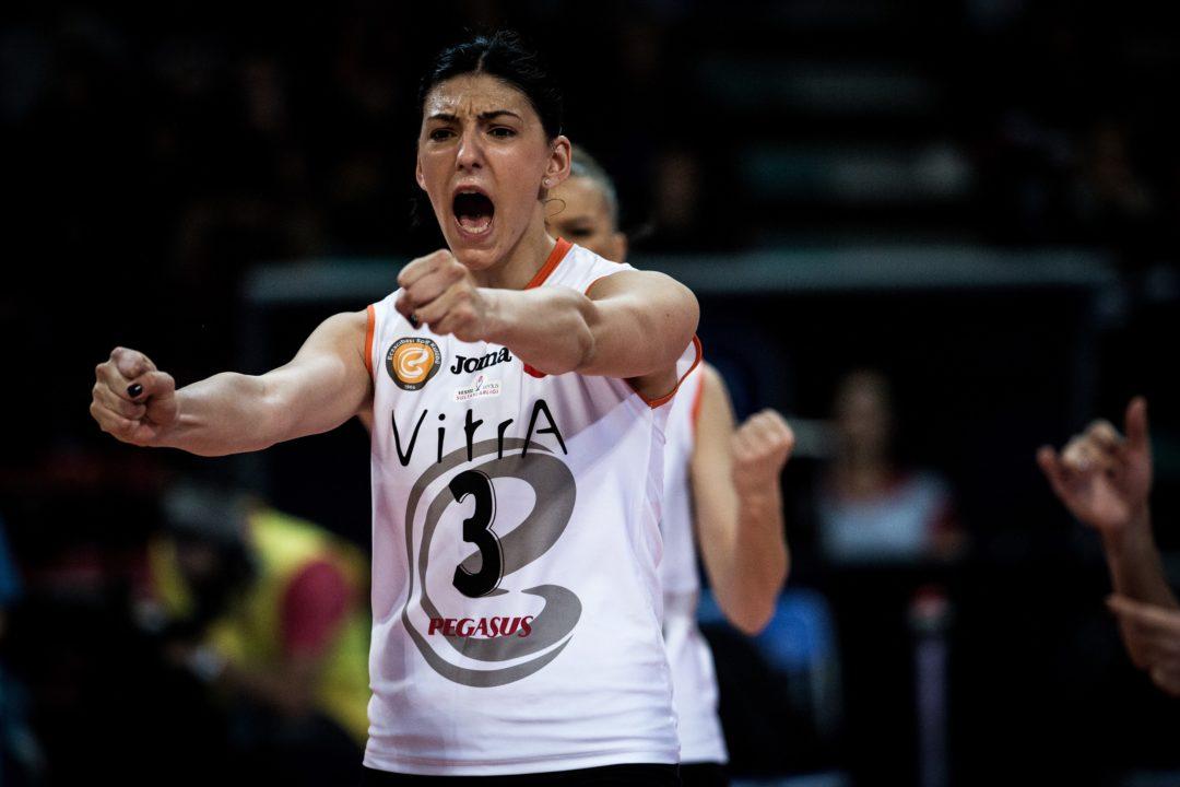 2017 European MVP Tijana Boskovic Re-Ups in Istanbul for 3 Years