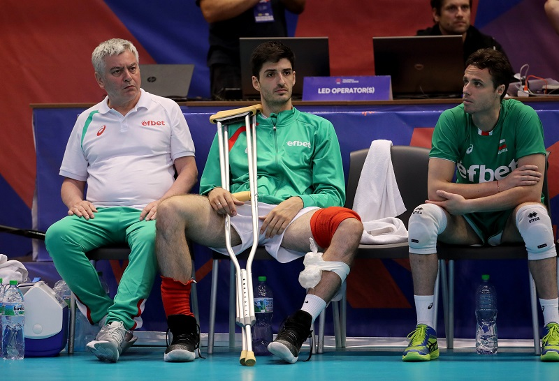 Injuries Strike Again For Struggling Bulgaria, Skrimov Leaves Match