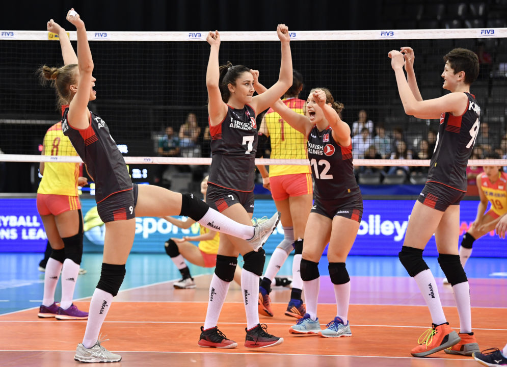 Four of Final Six Win To Wrap Up #VNL Robin Play