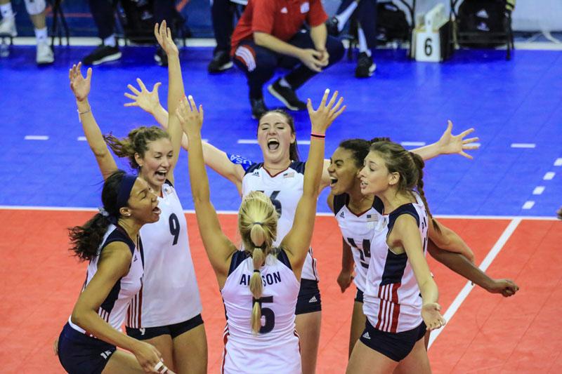 U20 NORCECA Women's Championship: USA Downs Mexico, D.R. Sweeps Cuba in Semis