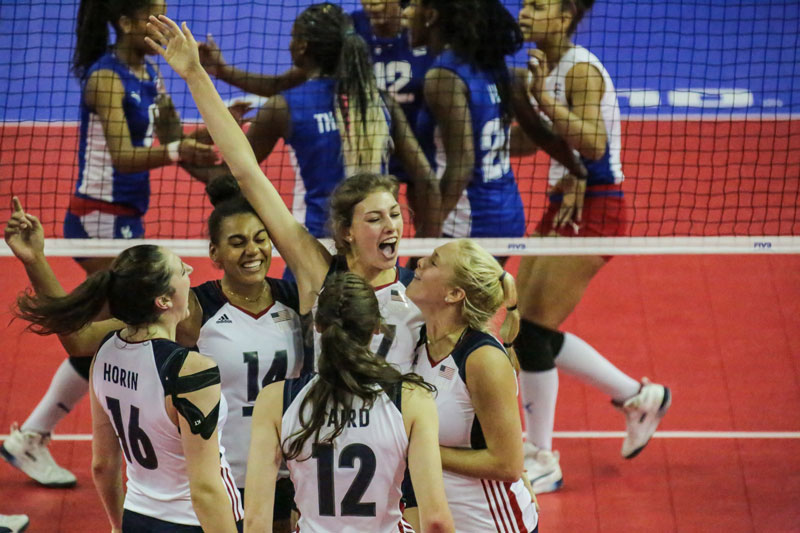 U20 NORCECA Women's Championship: USA Squeaks by Cuba; PR, DR, Mexico Nab Wins