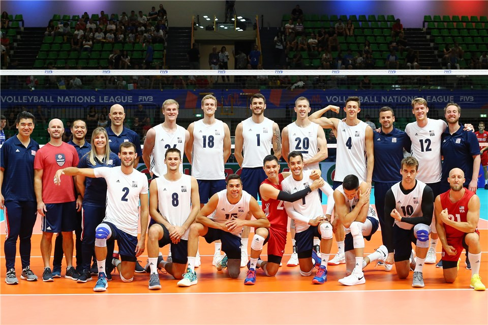 USA Moves Into VNL Final Six Despite 44 Errors in 5-Set Loss to France