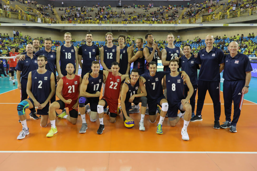 Langlois, Anderson Pace USA Men in #VNL Sweep of Korea